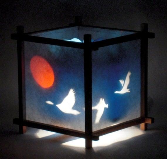 Geese Harmony Lantern