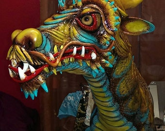 The Gold and Turquoise Dragon