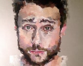 Reserved for 512farms: Charlie Kelly Pastel Portrait