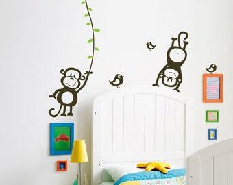 Monkeys Wall Decal