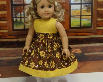 Honey Bee - Dress for American Girl doll