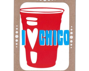 I Heart Chico -- Boxed Set of Six Cards