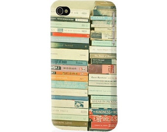 CIJ SALE Bookworm iPhone Hard Case for 4/4S or 5/5S Book Collection Photography