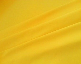 Yellow solid 1 yard knit