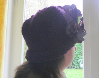 Downton Hat Knitting Pattern