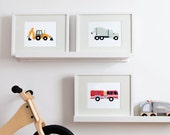 Fire Truck Print
