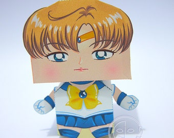 Sailor Uranus Printable Paper Craft PDF