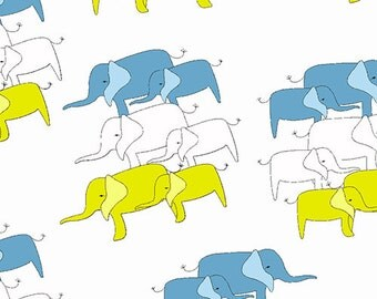 Zaza Zoo Elephants by Marissa and Creative Thursday 1/2 Yard