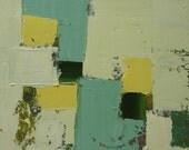 Original Abstract Painting, modern, contemporary art, home decor, interior design,yellow, green, black