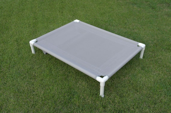 Items similar to ready to ship dog bed gray mesh pvc frame for Pvc cat bed