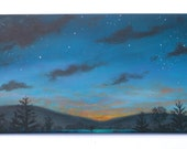 For Avena-Lyn only please, Special commission Night sky /9-3 painting