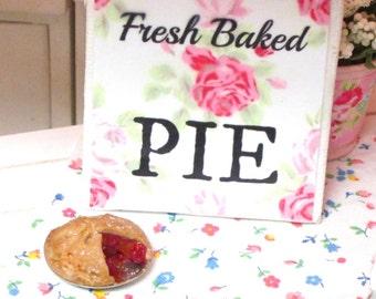 Cherry Pie and Pie Sign-Miniature