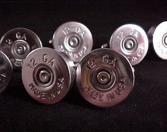 Shotgun Cufflinks Gift Set / Wedding Set 12 Gauge Shotgun Cuff Links 5 Pair / Wedding Cufflinks / Groomsmen Gift / Gifts For Men