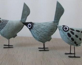 Pip Bird - Light Blue Felt