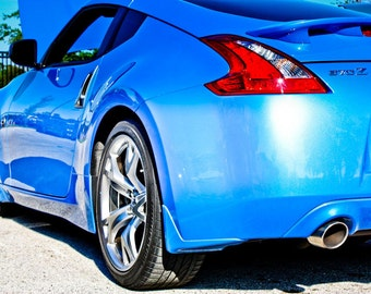 Nissan 370Z Car Photography, Automotive, Auto Dealer, Muscle, Sports Car, Mechanic, Boys Room, Garage, Dealership Art