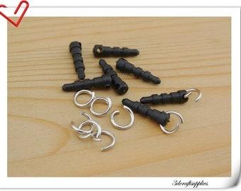 25 pieces of Cell phone  Earphone Plug Ear Cap Dock Dust Plug Cell Phone Anti Dust Plug P117