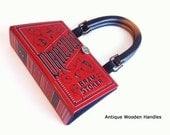 Dracula Book Purse - Dracula Book Clutch - Bram Stoker Book Bag - Vampire Collector Gift
