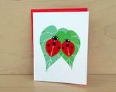 Ladybug Love Card