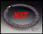KIT or refill kit for Miriam Necklace- blue