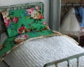 Romantic Chenille Bedspread and Pillow set for Blythe
