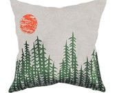 Throw Pillow Cover - 'Forest'