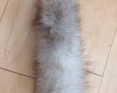 Fox tail key chain rockabilly 11x4 handmade
