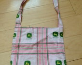 John Deere pink girls Cute Tote Bag Purse