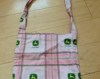 John Deere pink girls Cute Tote Bag Purse
