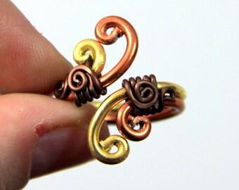 Spiral Waves Adjustable Ring