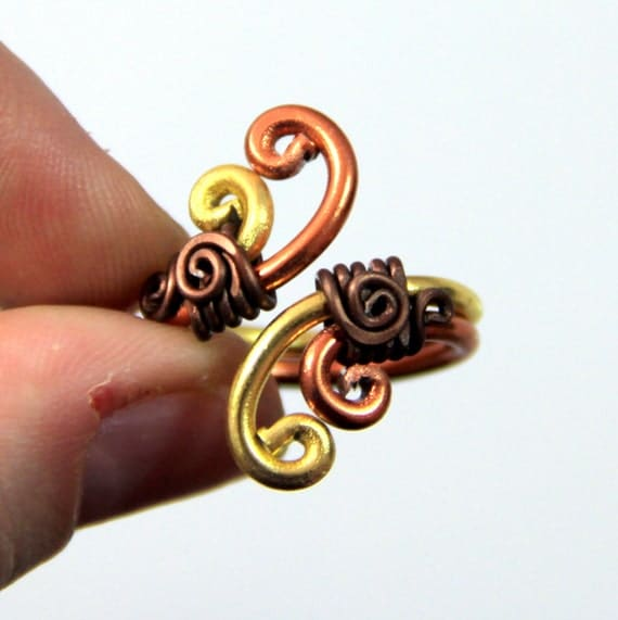 Spiral Waves Adjustable Ring