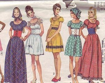 1970 Simplicity 9164 dress Bust 36