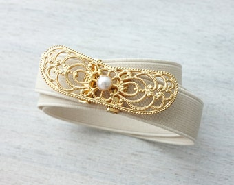 On Sale 20% Off, Elizabeth Belt, wedding bridal belt, wedding accessory, expandable belt