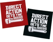 PATCH Direct Action Iron-On 3 x 3.25 inches