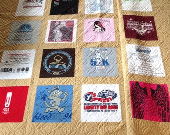 T-Shirt and Memory Quilts