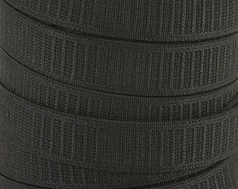 Elastic, Non-Roll Elastic 50-Yard Wholesale Polyester Woven by the roll (Options Width, Color)~ZipperStop Wholesale  Distributor YKK®