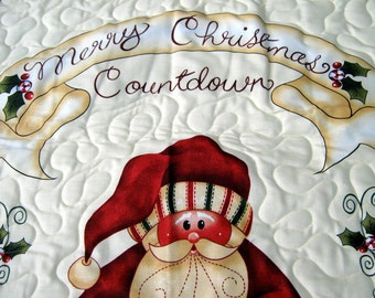 Handmade Advent Calendar Santa Christmas Countdown For Children