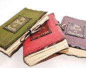 """Supernatural """"The book of secrets"""" Leather Book / Journal / Notebook"""