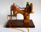 Hardwood Beech Toy Sewing Machine