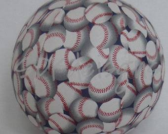 Balloon Ball with Take Me out to the Ball Game Baseball fabric - as seen on Parenting.com