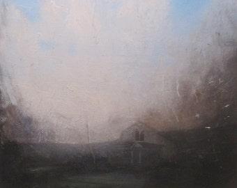 Landscape oil painting print - Num 7