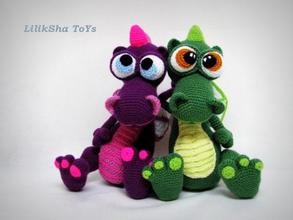 Free Crochet Pattern Dragon Toy : Une petite liste de tutos payant - Tout sur le crochet et ...
