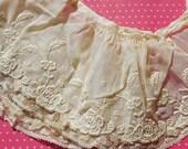 Antique Lace Vintage Lace Trim Whitework Valenciennes Lace Collar