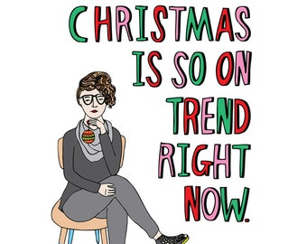 Christmas Card - Christmas Is So On Trend Right Now