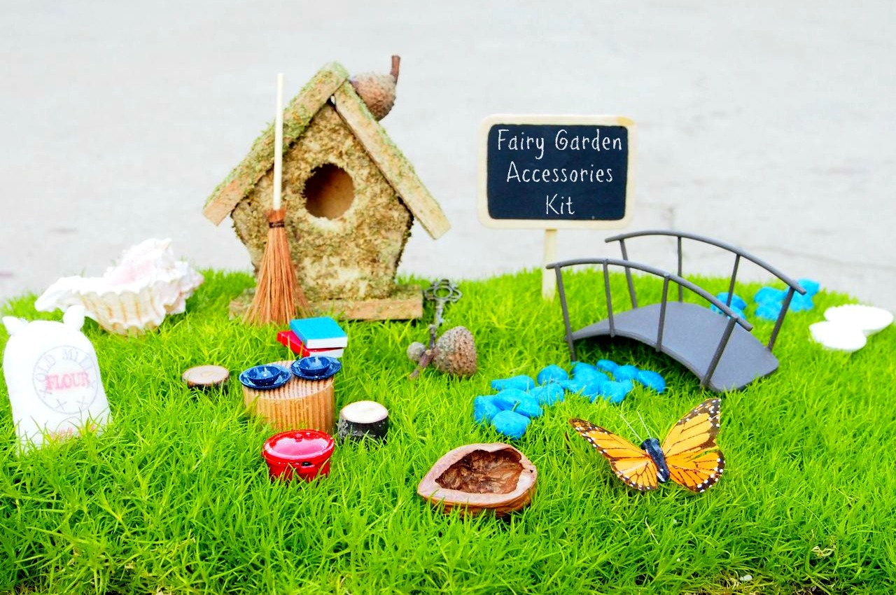 Fairy Garden Kit Fairy Garden Accessories Fairy by Fairyfolk