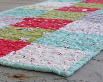 Modern Christmas Table Runner for the Holidays and Every Day