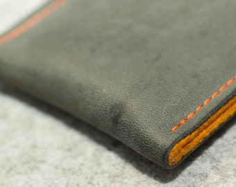 Galaxy S5 | S4 | S3 Leather Sleeve - CONCRETE (Organic Leather)
