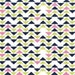 Technicolor Triplet by Emily Herrick Kryptonite Michael Miller Fabric Geometric 1 Yard