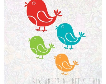 Little Birds Vol 3 Wall Vinyl Decals Art Graphics Stickers