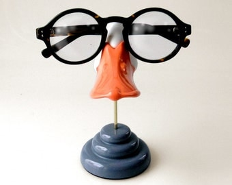 Duckbill eyeglass stand, Funny sunglasses display, Kids glasses holder , Men, Women, novelty gift
