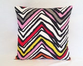 Pillow Red,Yellow,Black,White,Gray,Pink Chevron from Ikea